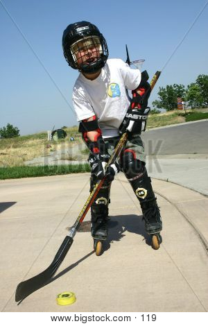 Street Hockey Kid