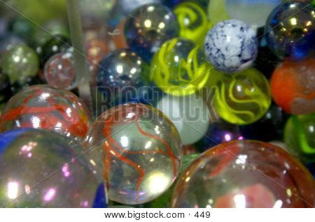 Marbles Close Up