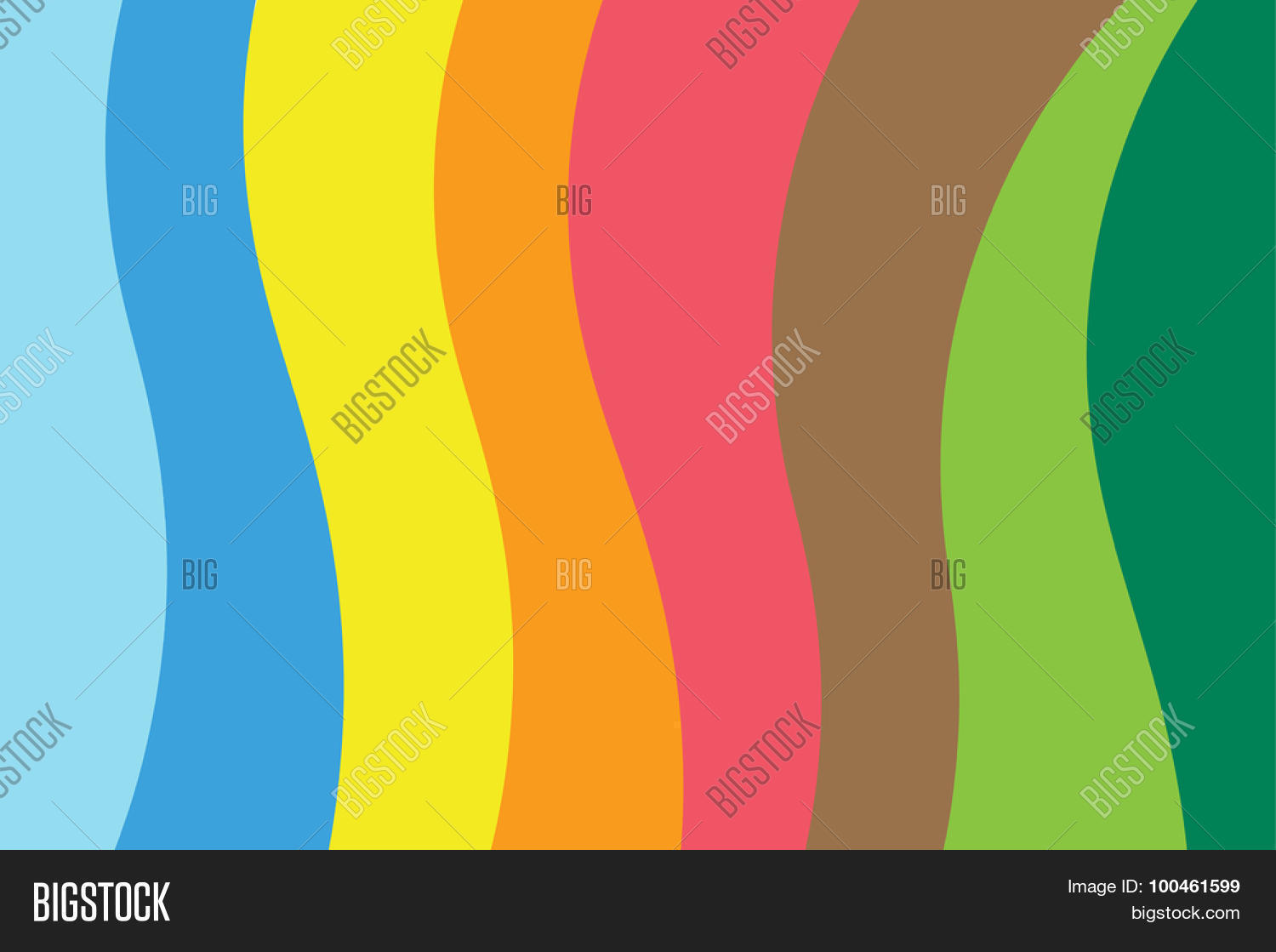 Color Line Design : Abstract line triangle background design vector