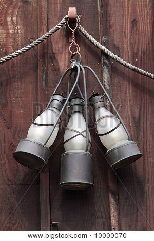 Oude lantaarns