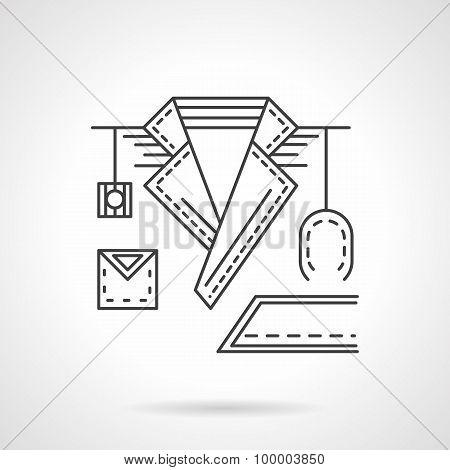 Doctor line vector icon