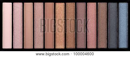 Colorful eyeshadow palette