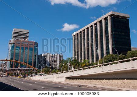 Rio de Janeiro Urban Scene