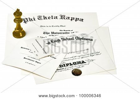 College Degree Documents