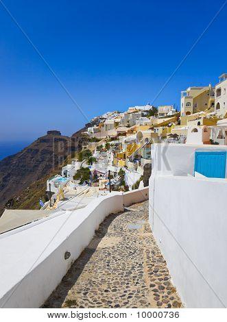 Uitzicht op Santorini - Griekenland