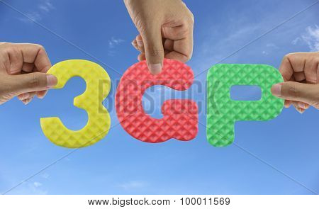 Hand Arrange Alphabet 3Gp.
