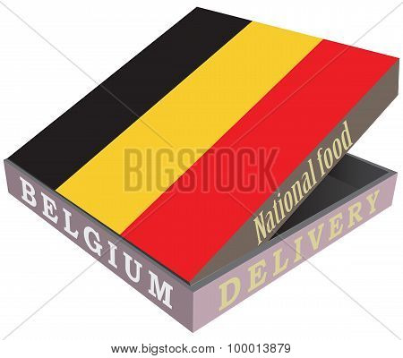 Delivery Of The Belgian National Food