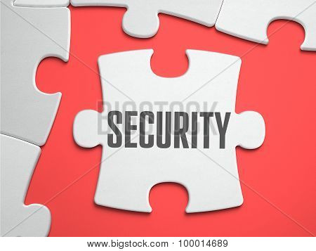 Security - Puzzle on the Place of Missing Pieces.