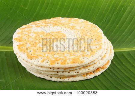 Dosa-Traditional breakfast from India.