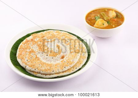 South Indian breakfast Dosa