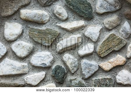 Background Of Stone Ground Texture Effect
