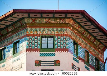 Hauptman House Detail, Ljubljana