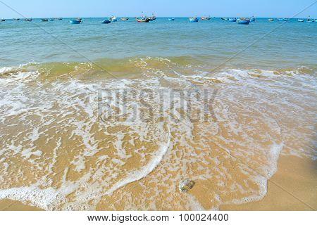 View Of Beautiful Nha Trang Beach
