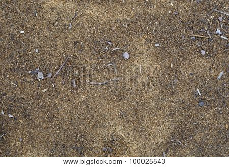 Sawdust texture background