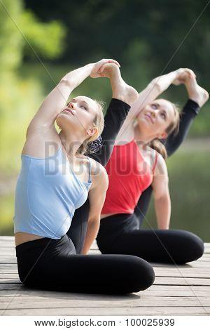Yoga Class: Parivrtta Surya Yantrasana Yoga Pose
