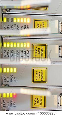 optical multiplexor in a datacenter of mobile operator.