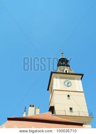 The Old Town Hall And City Council In Brasov, Romania.