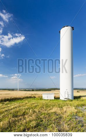 Collapsed Wind Turbine