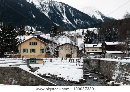 Alpine Chalets, Klosters, Switzerland