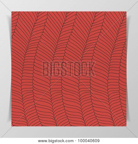 Muscle Tissue flat Design Pattern