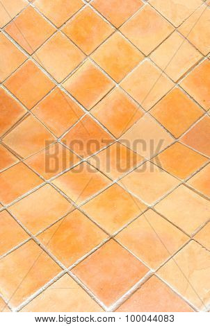 Clay Tile Background
