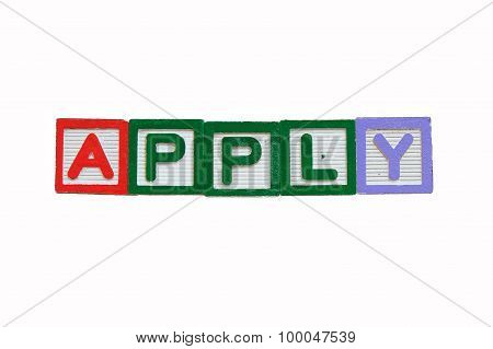 concept of apply