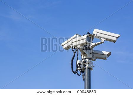 Cameras On Pole