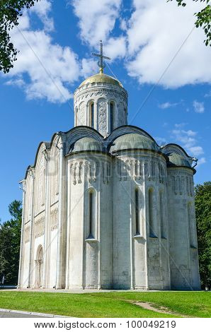 Dmitrievsky (dmitrovsky) Cathedral In Vladimir