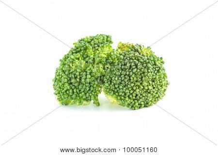 Fresh Green Broccoli Boiled Ingredient
