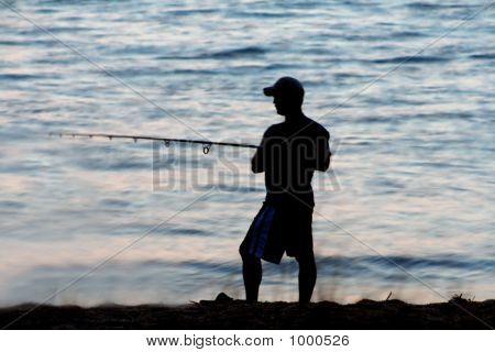 Surf pesca ao entardecer 6