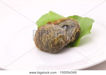 Fried Preserved Egg