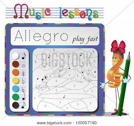 Learning Tempo Muzyke- Allegro