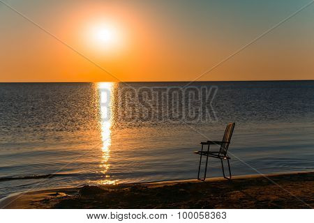 Chair On The Seashore
