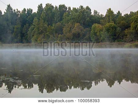 Mist Over River