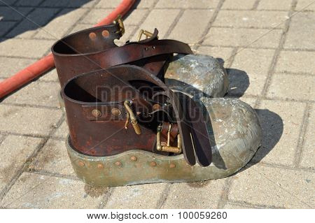 Vintage Diving Shoes
