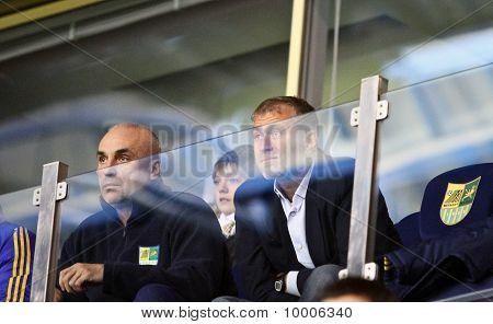 Aleksandr Yaroslavsky And Roman Abramovich