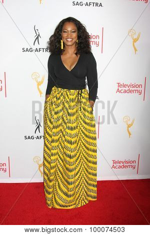 LOS ANGELES - AUG 27:  Garcelle Beauvais at the Dynamic & Diverse Emmy Celebration at the Montage Hotel on August 27, 2015 in Beverly Hills, CA