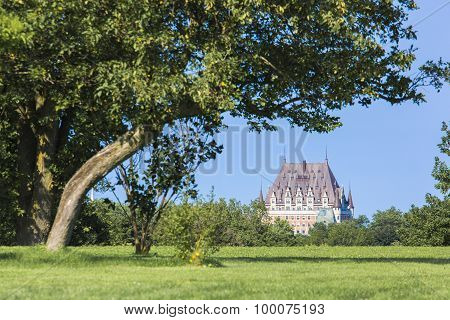 View the Chateau Frontenac, Quebec, Canada.