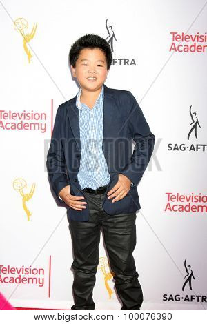 LOS ANGELES - AUG 27:  Hudson Yang at the Dynamic & Diverse Emmy Celebration at the Montage Hotel on August 27, 2015 in Beverly Hills, CA