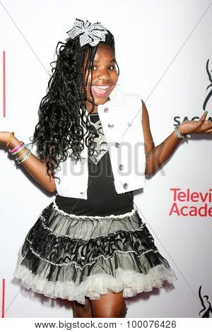 LOS ANGELES - AUG 27:  Trinitee Stokes at the Dynamic & Diverse Emmy Celebration at the Montage Hotel on August 27, 2015 in Beverly Hills, CA