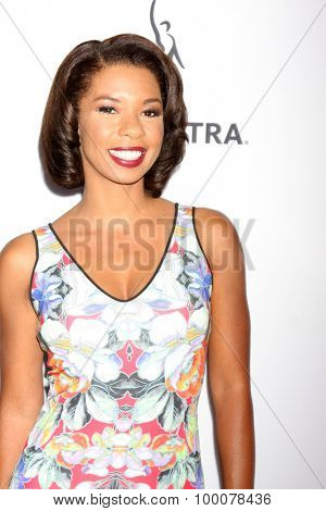 LOS ANGELES - AUG 27:  Angel Parker at the Dynamic & Diverse Emmy Celebration at the Montage Hotel on August 27, 2015 in Beverly Hills, CA