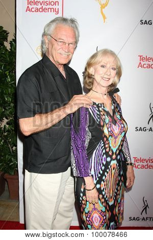LOS ANGELES - AUG 27:  Mike Genovese, Ellen Crawford at the Dynamic & Diverse Emmy Celebration at the Montage Hotel on August 27, 2015 in Beverly Hills, CA