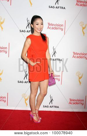 LOS ANGELES - AUG 27:  Lana Condor at the Dynamic & Diverse Emmy Celebration at the Montage Hotel on August 27, 2015 in Beverly Hills, CA