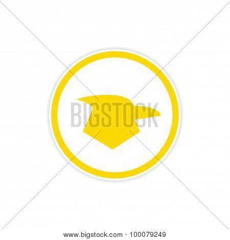 sticker logo Eagle