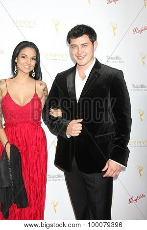 LOS ANGELES - AUG 26:  Christopher Sean at the Television Academy's Daytime Programming Peer Group Reception at the Montage Hotel on August 26, 2015 in Beverly Hills, CA