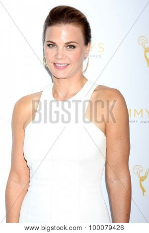 LOS ANGELES - AUG 26:  Gina Tognoni at the Television Academy's Daytime Programming Peer Group Reception at the Montage Hotel on August 26, 2015 in Beverly Hills, CA