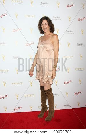 LOS ANGELES - AUG 26:  Stacy Haiduk at the Television Academy's Daytime Programming Peer Group Reception at the Montage Hotel on August 26, 2015 in Beverly Hills, CA