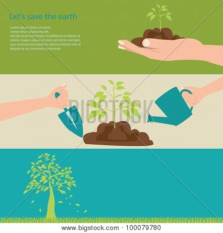 Let's Save The Earth.