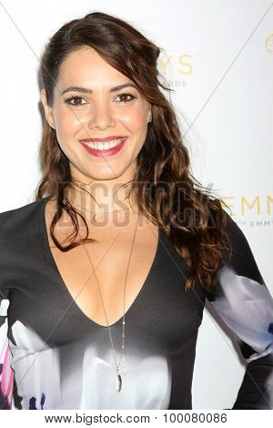 LOS ANGELES - AUG 26:  Elena Tovar at the Television Academy's Daytime Programming Peer Group Reception at the Montage Hotel on August 26, 2015 in Beverly Hills, CA
