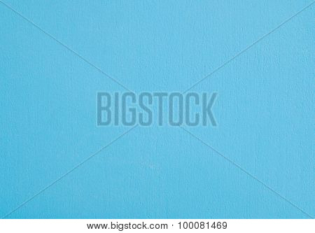 Horizontal Texture Of Blue Stucco Wall Background